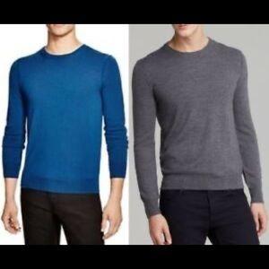 Buberry Extra Fine Merino Wool crew Neck Sweater M